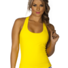 Yellow Workout Tank Top