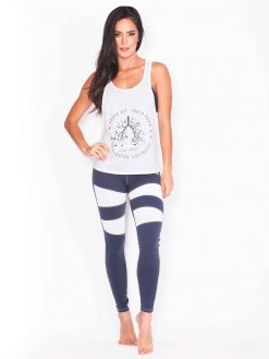 High Waisted Grey Pilates Leggings