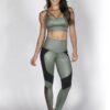 Green Fitness Bra Top