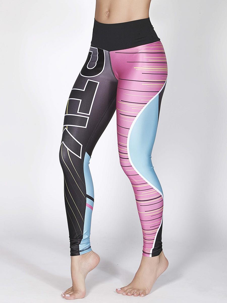 printed running leggings sportswear online shop dubai gulfissimo