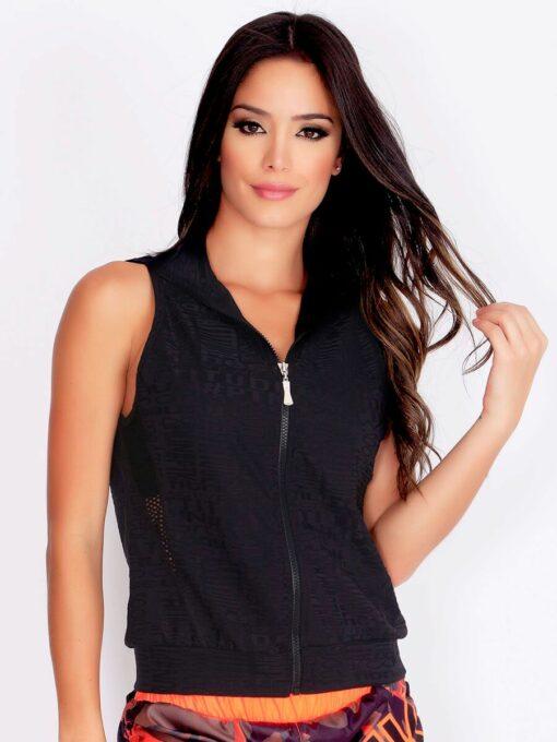 Black Workout Vest