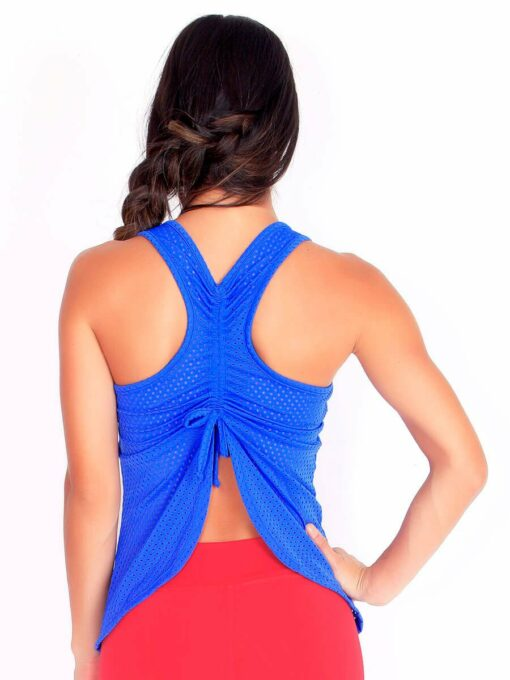 Electric Blue Fitness Mesh