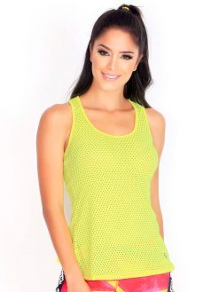 Yellow Fitness Trendy Mesh
