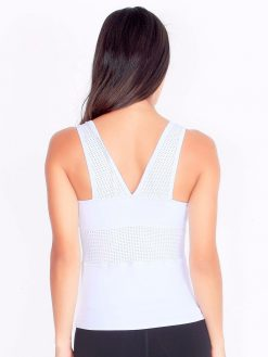 White Gym Tank Top