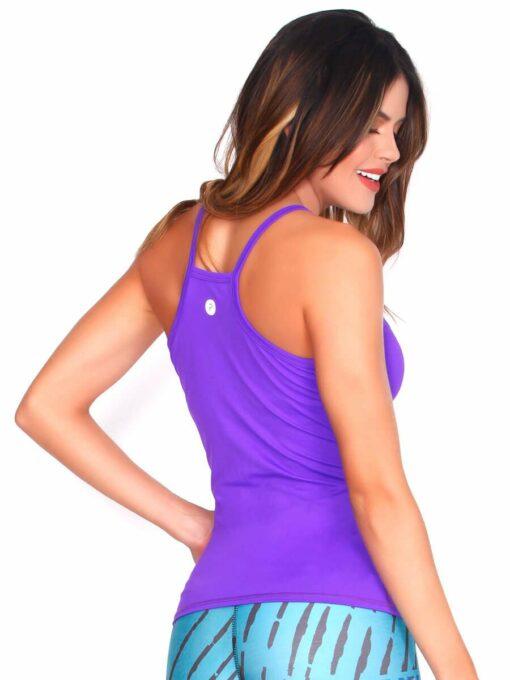 Purple Gym Tank Top