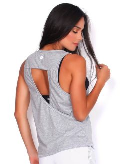 Grey Yoga T-shirt