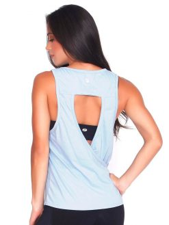 Baby Blue Yoga T-shirt