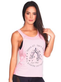 Baby Pink Yoga T-shirt