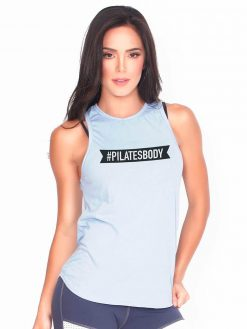 Baby Blue Pilates T-shirt