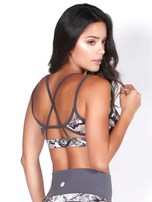 Printed Gym Bra Top