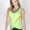 Lemon Green Sport Tank Top