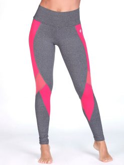 Coral Gym Leggings