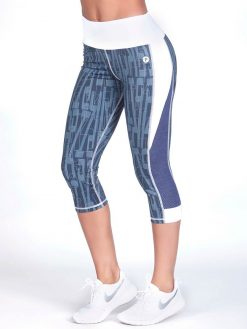 High Waisted Workout Capri