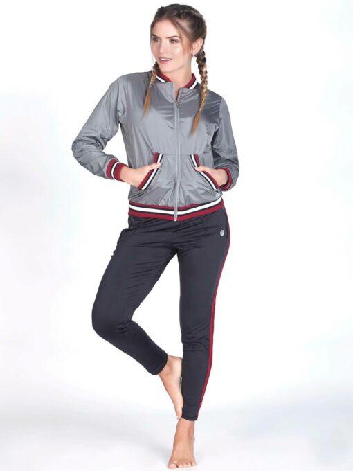 Metallic Grey Sport Jacket