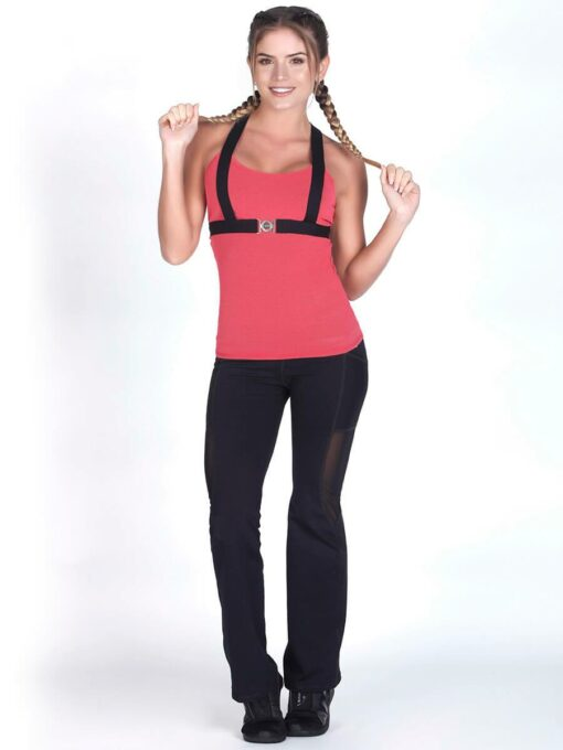 Coral Workout Tank Top