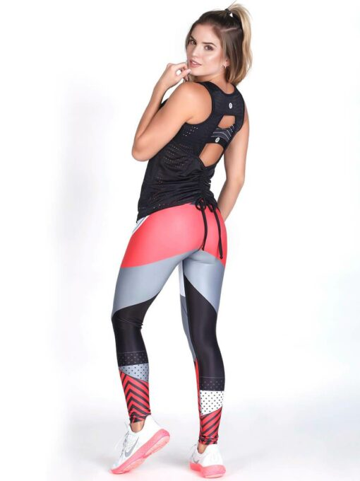 Workout Black Mesh