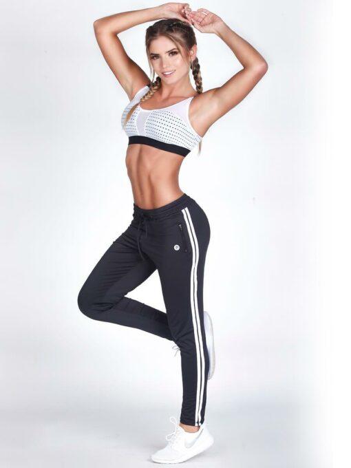White Fitness Bra Top