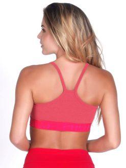 Pink Sport Bra Top