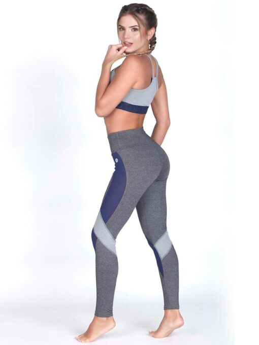 Gray Sport Bra Top