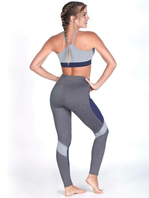 Gray Sport Bra Top