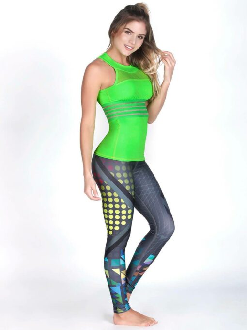 Neon Green Fitness Tank Top