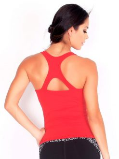 Red Sport Tank Top